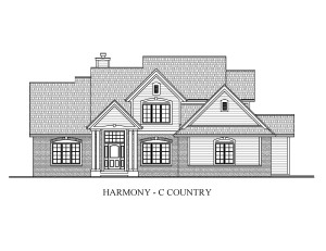 BRO -10-30-2009 HARMONY-C COUNTRY FRONT ELEVATION