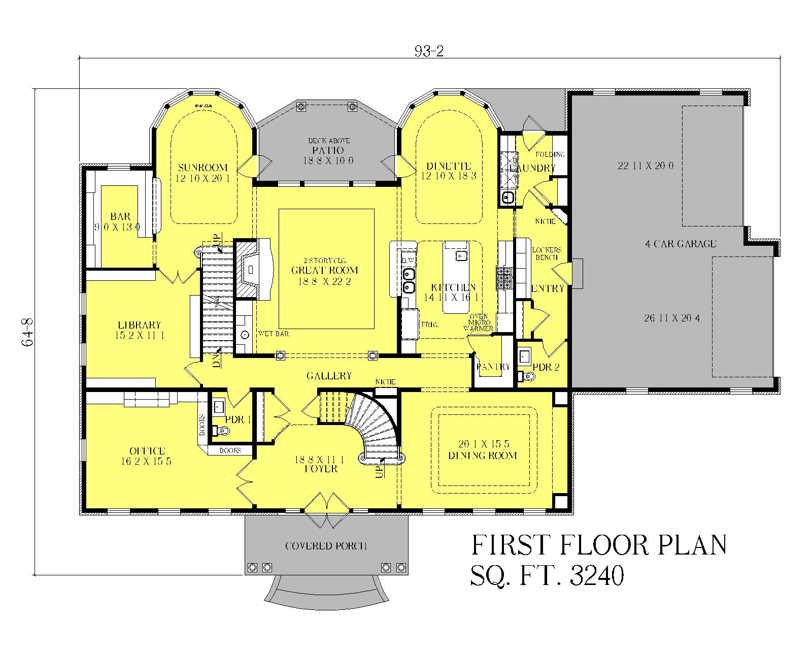 Georgian manor heislen designs Manor house floor plan