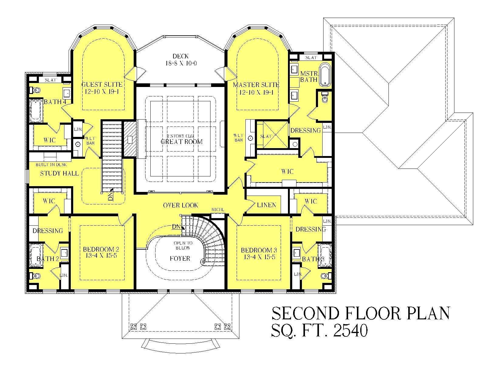 Georgian manor heislen designs for Manor floor plans