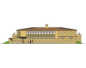HOUSE 2 - FRONT ELEVATION