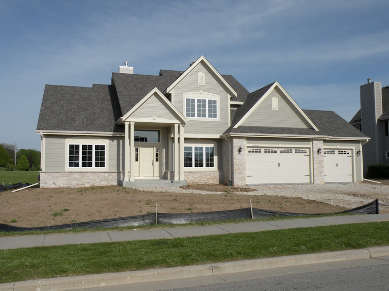 Front entry 3 car garage house plans for 3 car garage home plans