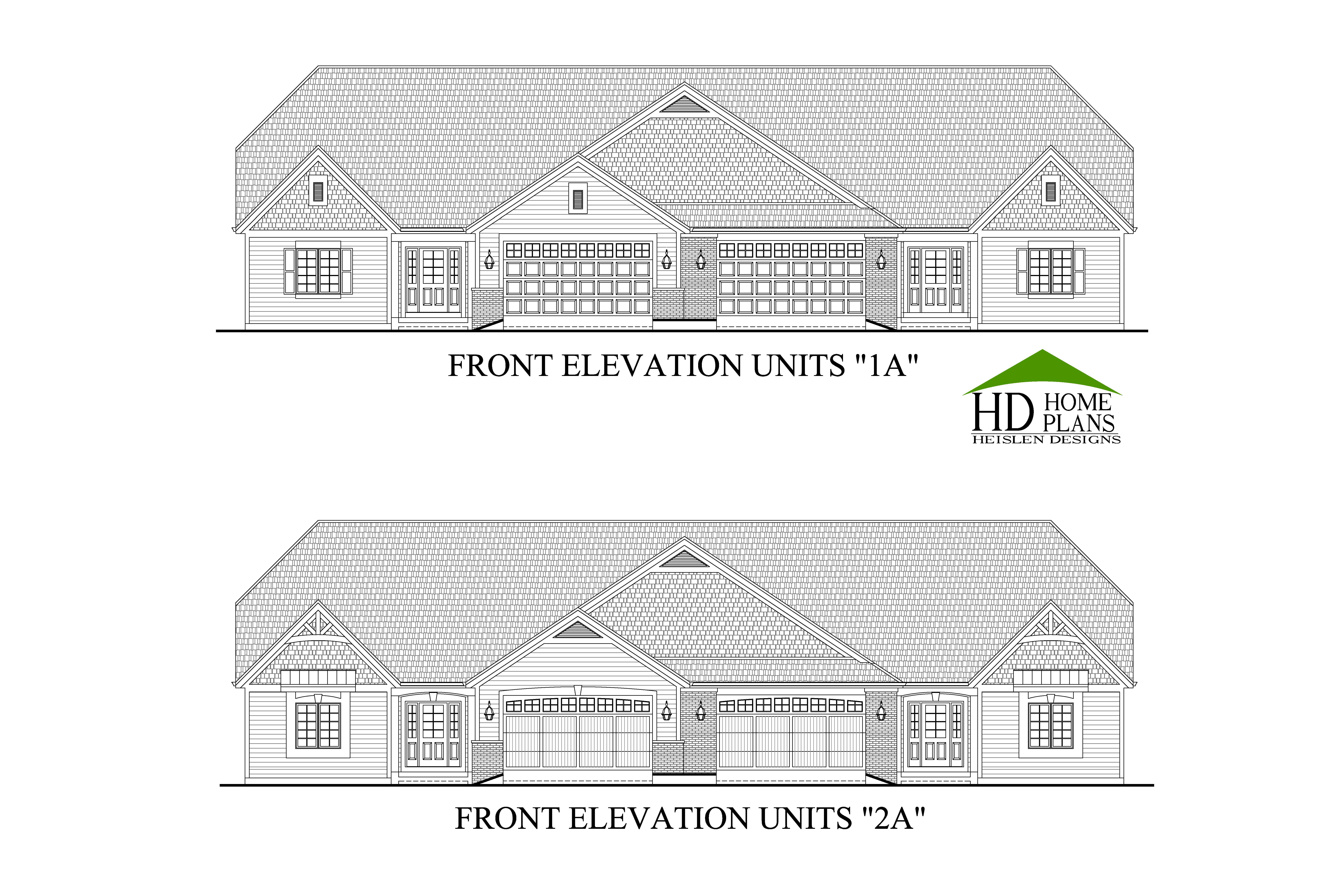 Legend ranch town homes of mequon heislen designs for 24x36 ranch house plans
