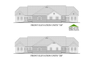 20140303 BROCHURE - LEGEND COURT TOWN HOMES UNITS B  FRONT ELEVATIONS 24X36