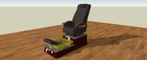 3-19-2014 Pedicure Chair Square Bowl- Woodhouse Spa - RENDERING 1