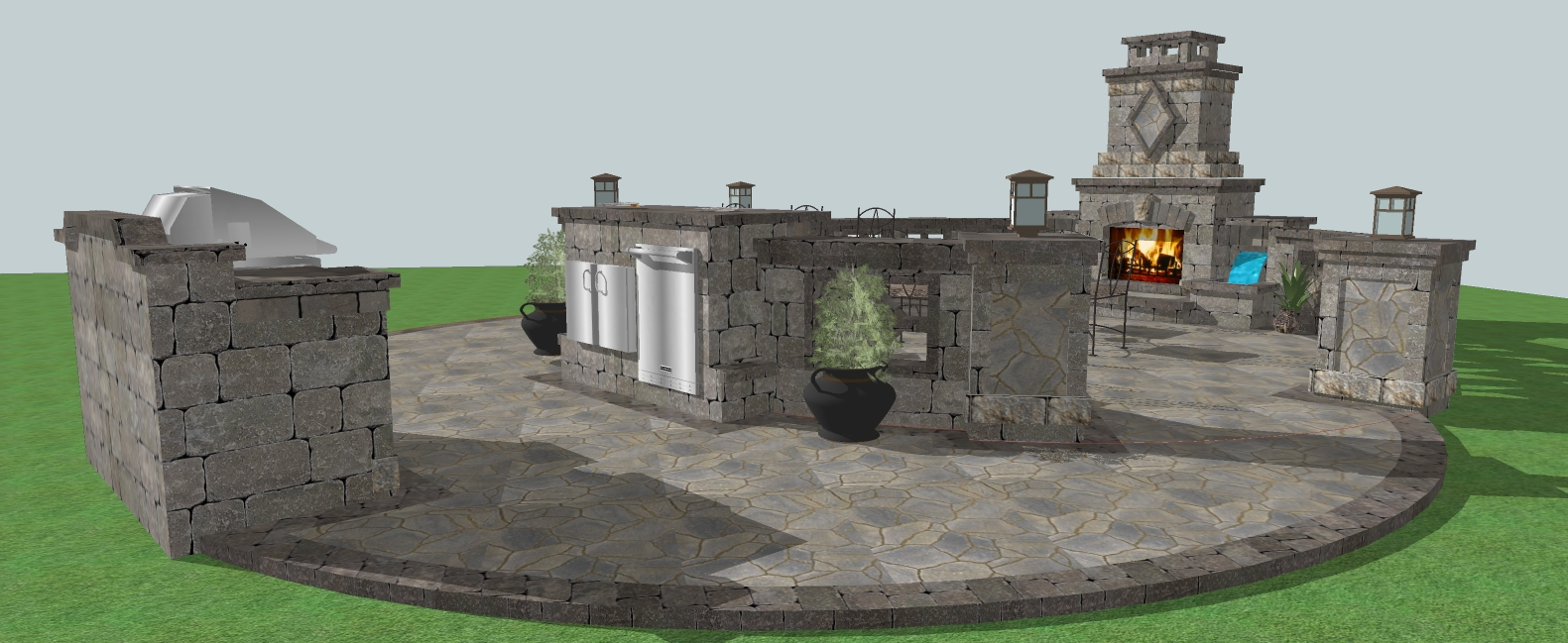 patio designs northern ireland