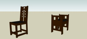 Iwanski - Dining Chair and Hall Bench - View1